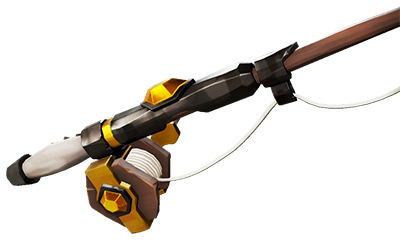 Sea of Thieves Sovereign Fishing Rod skin