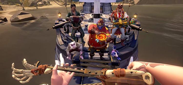 Sea of Thieves / Playing The Banjo Screenshot