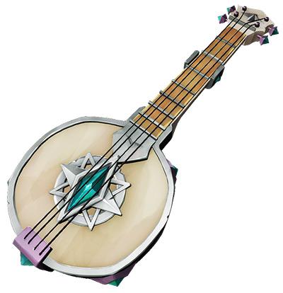Silver Blade Banjo skin in Sea of Theives