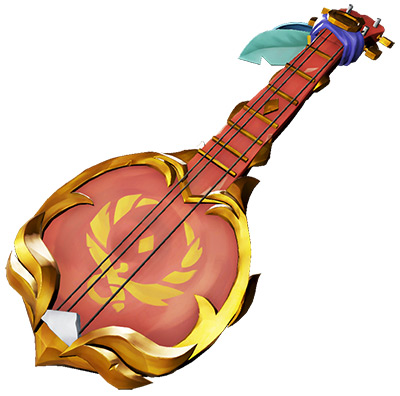 Sea of Theives Glorious Sea Dog Banjo skin
