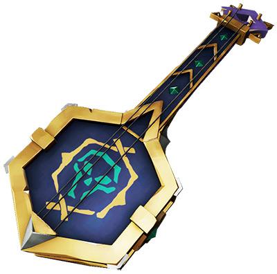 Legendary Banjo skin in Sea of Theives