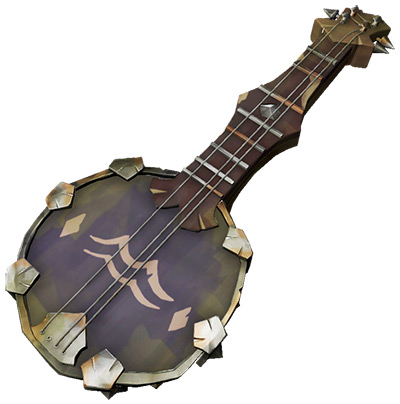 Banjo Of The Silent Barnacle skin in Sea of Thieves