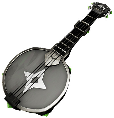Sea of Thieves Obsidian Banjo skin