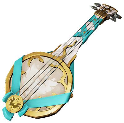 Sea of Thieves Gilded Phoenix Banjo skin