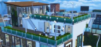 Waldorf Astoria-inspired Penthouse Lot / TS4