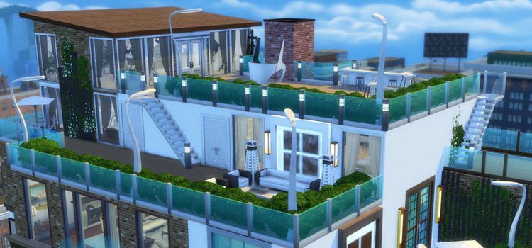 The Best Sims 4 Penthouse Lots To Download (All Free)