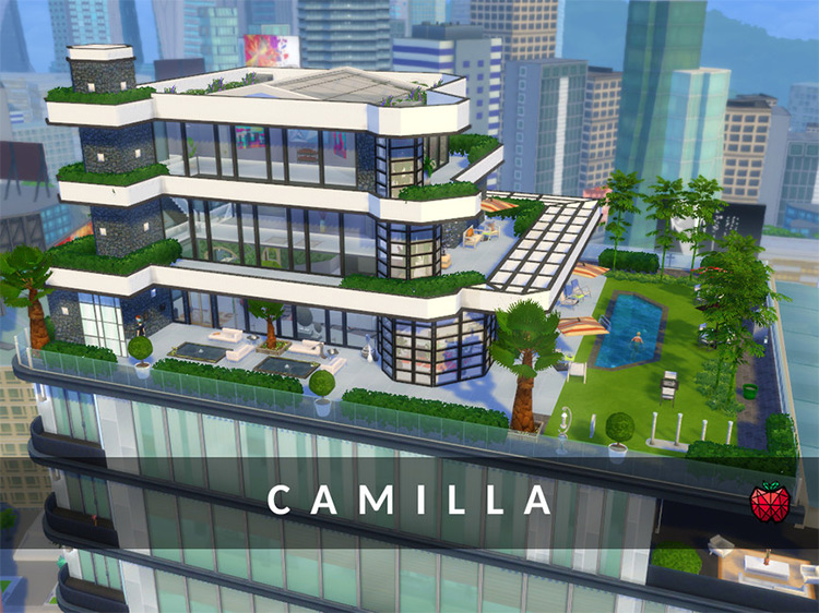 Camilla Penthouse for The Sims 4