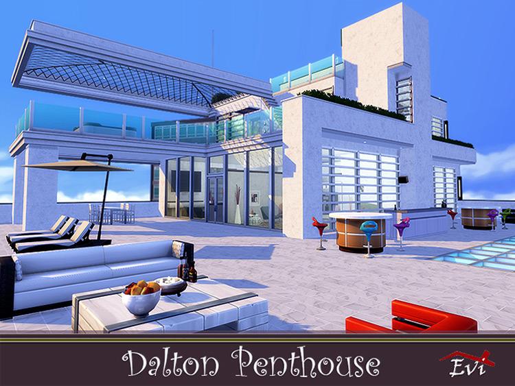 Dalton Penthouse in The Sims 4