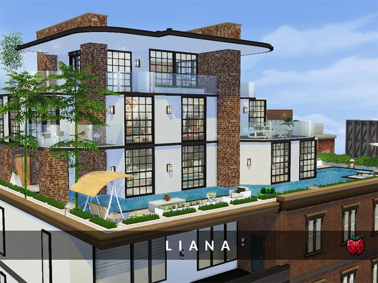 Liana Penthouse / The Sims 4