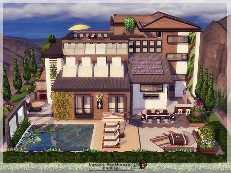 Luxury Family Penthouse / TS4