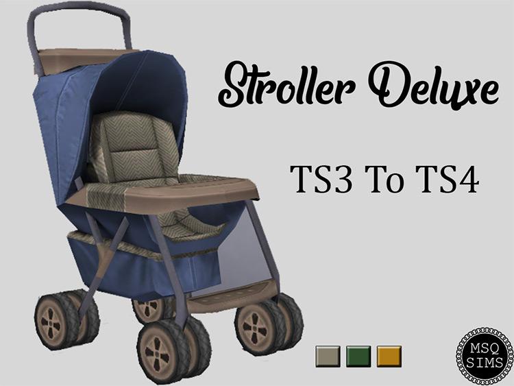 Stroller Deluxe / Sims 4 CC