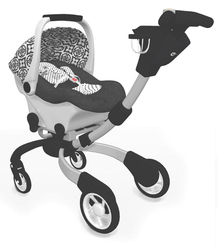 EmySimss Baby Stroller / TS4 CC