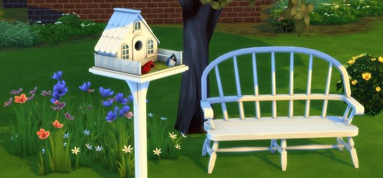 Sims 4 Bird CC: Birdcages, Bird Feeders & More
