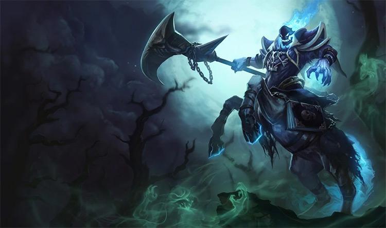 Reaper Hecarim Splash Art / LoL