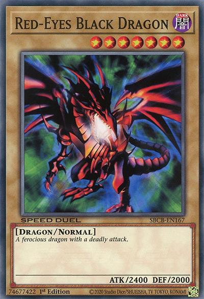 Red-Eyes Black Dragon Yu-Gi-Oh Card