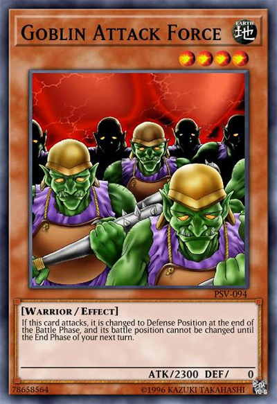 Goblin Attack Force Yu-Gi-Oh Card