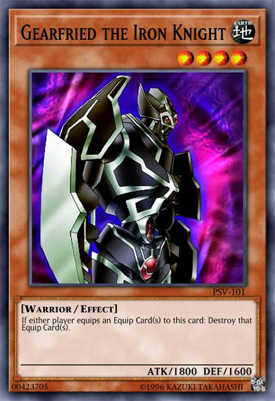 Gearfried the Iron Knight Yu-Gi-Oh Card