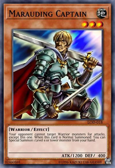 Marauding Captain YGO Card