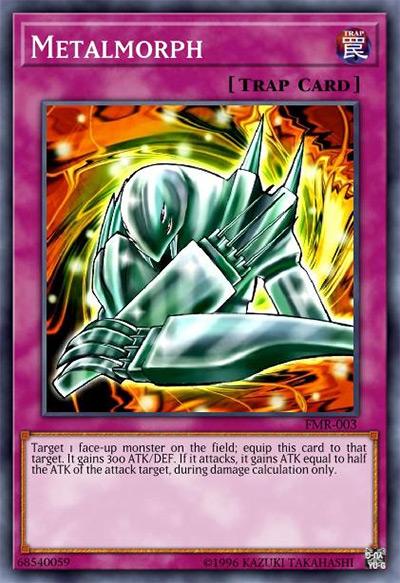 Metalmorph YGO Card