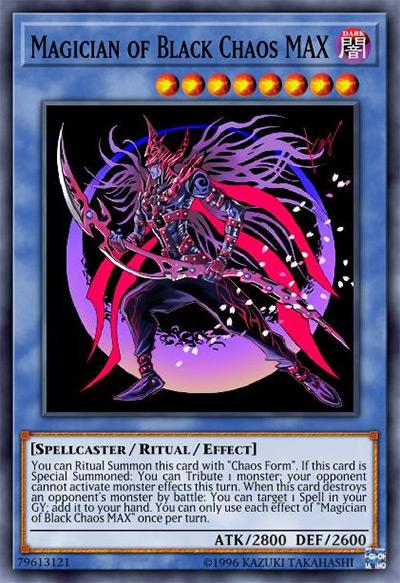 Magician of Black Chaos MAX Yu-Gi-Oh Card