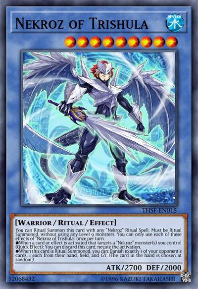 Nekroz of Trishula Yu-Gi-Oh Card