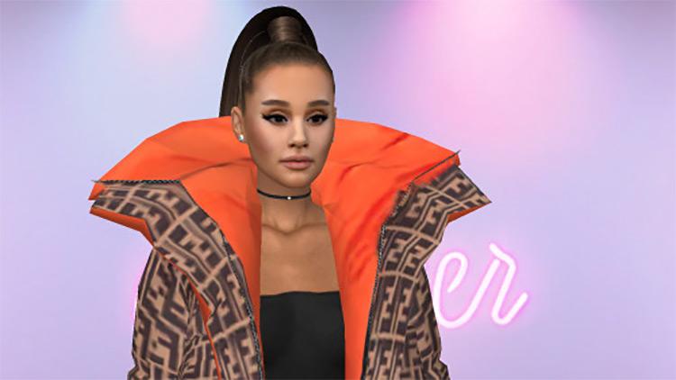 Ariana Grande Fendi Jacket for The Sims 4