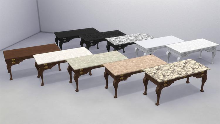 Victorian Desk / Sims 4 CC
