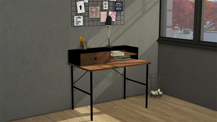 Industrial Decor Desk for The Sims 4