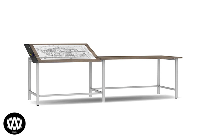 Fraxinus Drawing Desk / Sims 4 CC