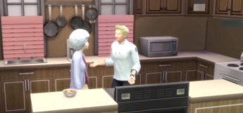 Gordon Ramsey Chef Character in The Sims 4