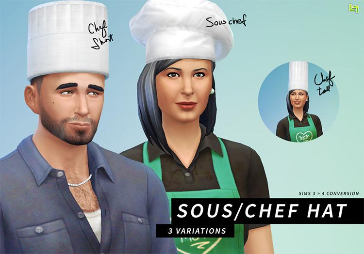 Chef's Hat / Sims 4 CC