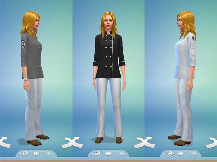 Chef Outfit Attire / Sims 4 CC