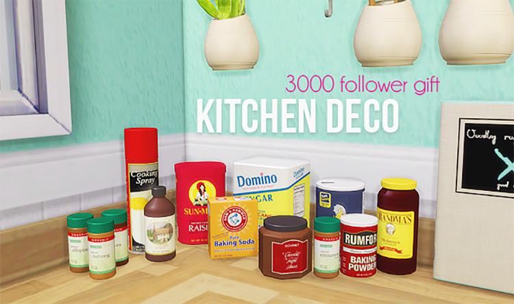Kitchen Decor Set / TS4 CC