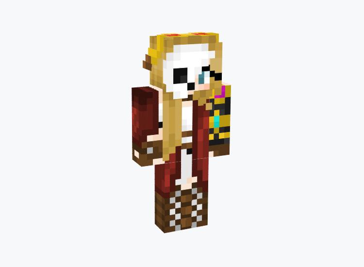 Cloak & Cape Steampunk Character / Minecraft Skin