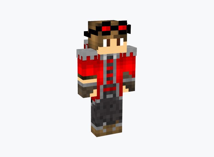 Redstone Steampunk Character / Minecraft Skin