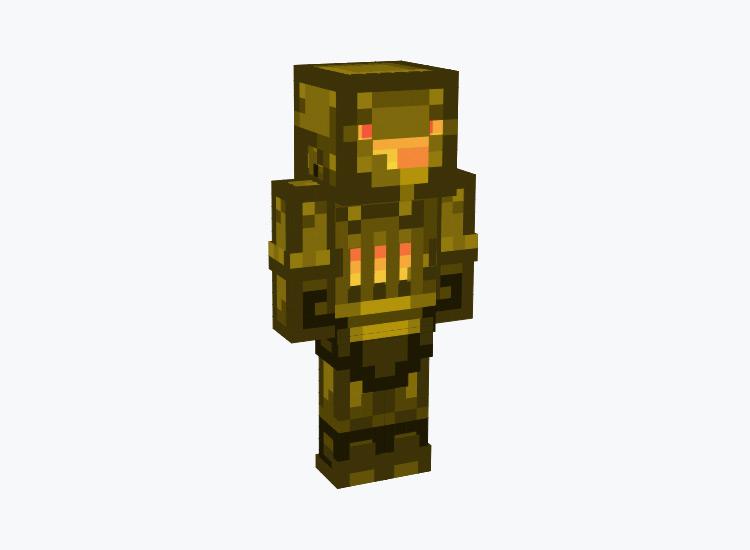 Steampunk Robot Derp Face / Minecraft Skin