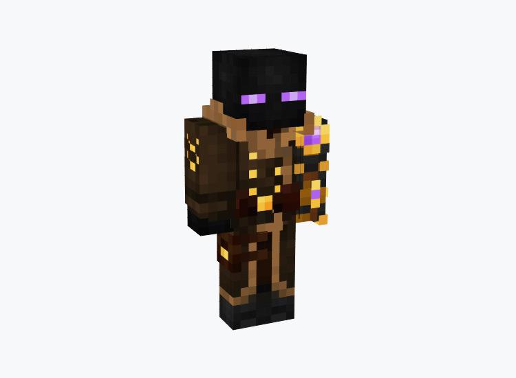 Steampunk Enderman / Minecraft Skin
