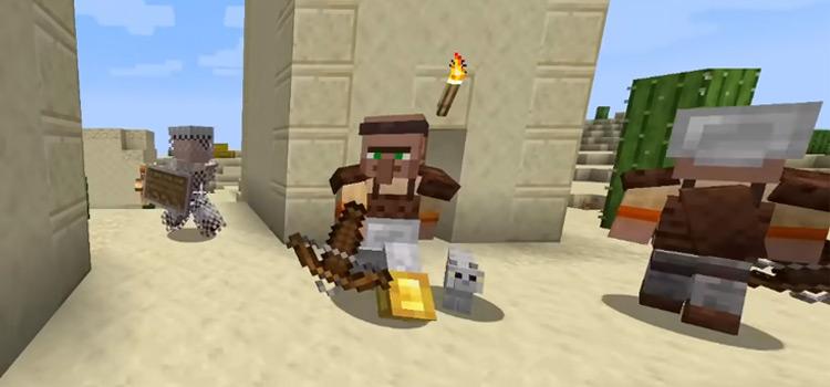 Minecraft Guards & Warriors Screenshot