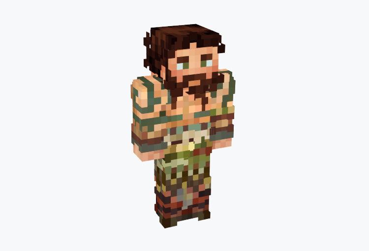 Celtic Warrior Male / Minecraft Skin