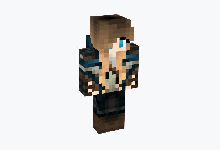 Medieval Warrior Girl / Minecraft Skin
