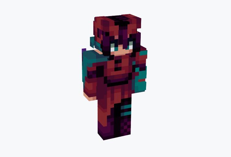 Depth of the Nether Warrior / Minecraft Skin