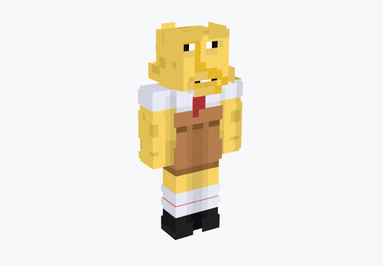 Homer SquarePants / Minecraft Skin
