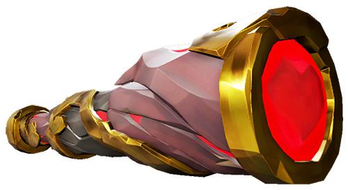 Reaper's Heart Spyglass skin in Sea of Thieves