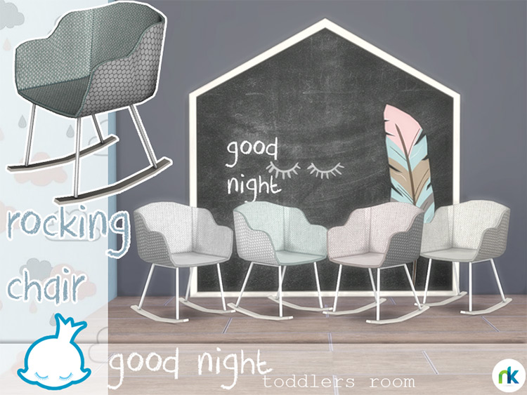 Good Night Rocking Chair for The Sims 4