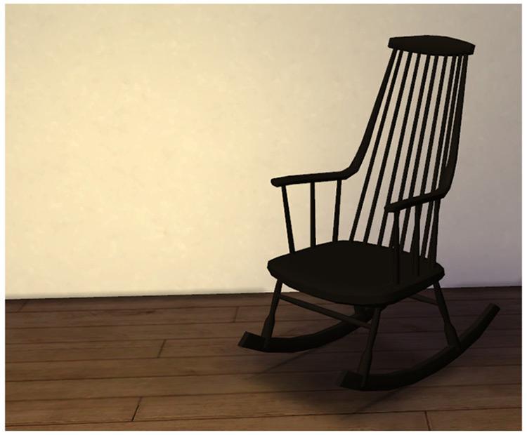 Rockingchair by Pocci / TS4 CC