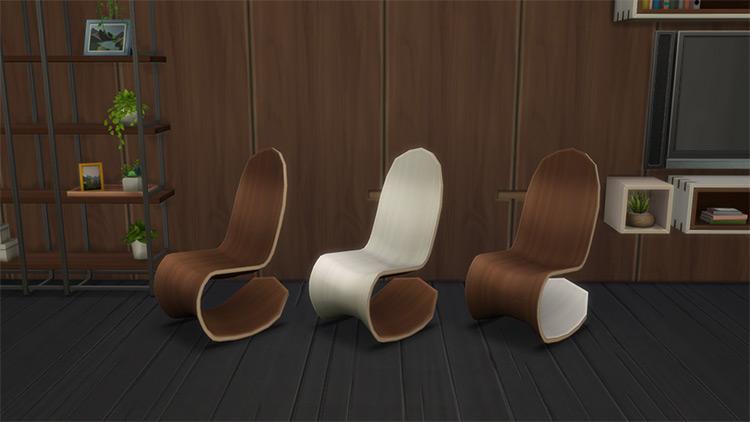 Eco Lifestyle Rocking Chair / Sims 4 CC