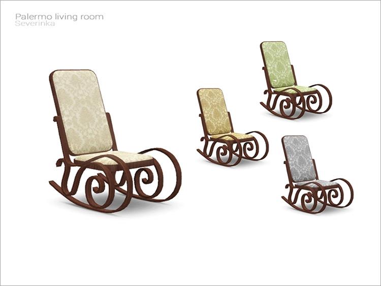 Palermo Living Rocking Chair / TS4 CC