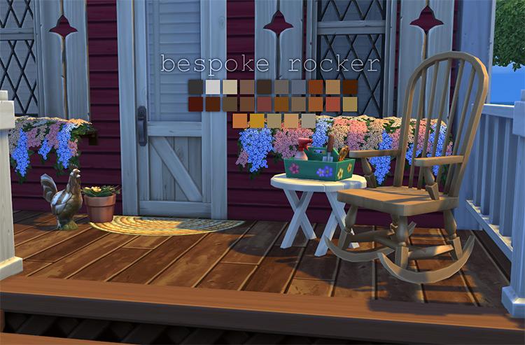 Bespoke Rocker CC for The Sims 4