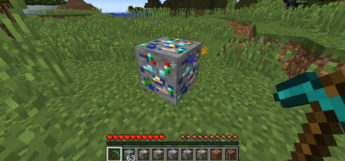Luck Ore Mod Preview in Minecraft