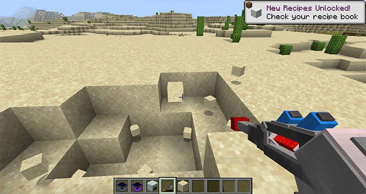 Mining Gadgets Minecraft mod screenshot